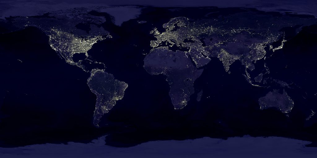 Cities At Night Mapping The World At Night